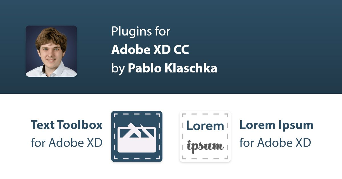 Plugins for Adobe XD CC by Pablo Klaschka